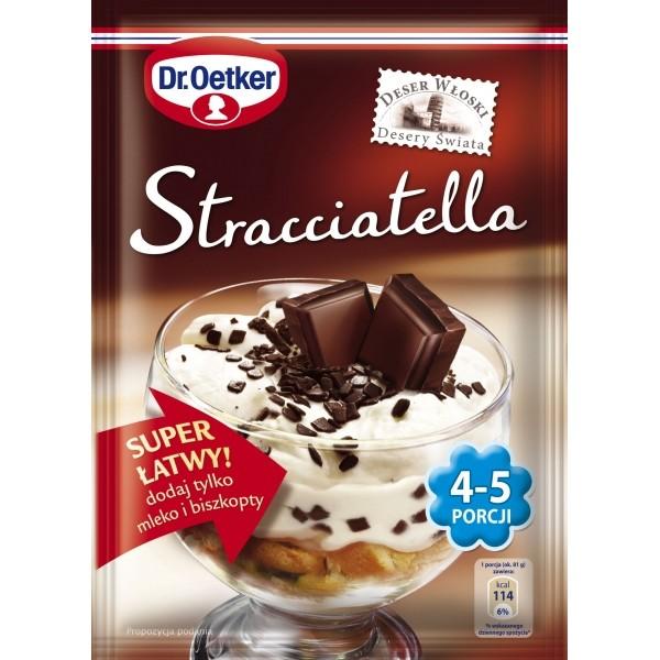 Deser włoski stracciatella 4-5 porcji Dr. Oetker