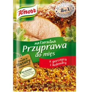 Przyprawa do mięs naturalna z gorczycą i kolendrą 30g - Knorr