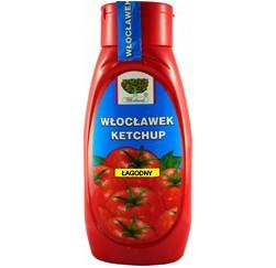 Ketchup łagodny 480g. WŁOCŁAWEK