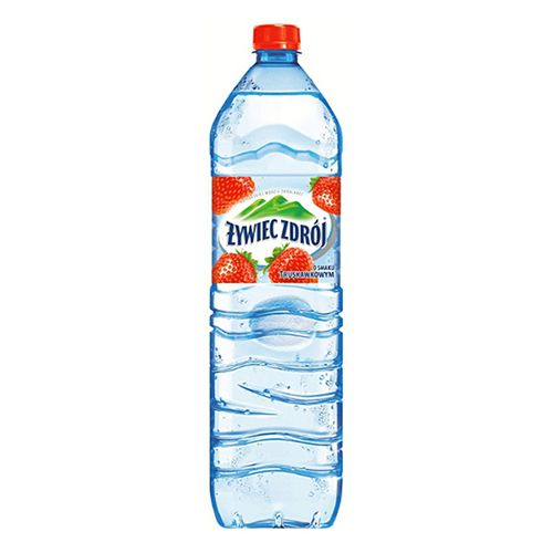 Woda niegazowana truskawkowa 1.5 litra - Żywiec