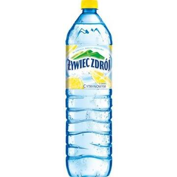 Woda niegazowana cytrynowa 1.5 litra - Żywiec