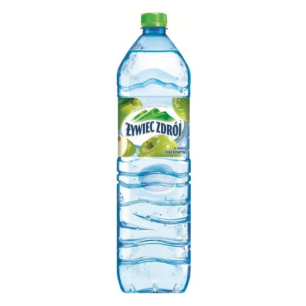 Woda niegazowana jabłkowa 1.5 litra - Żywiec