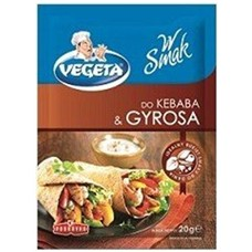 Vegeta do kebaba i gyrosa 20g